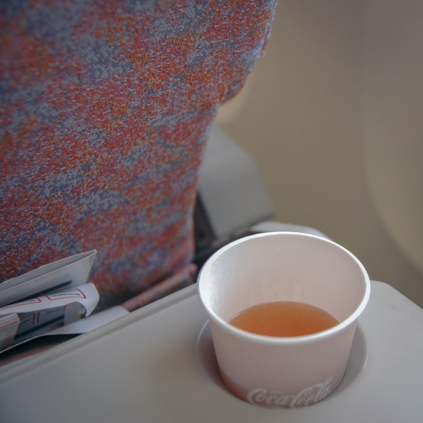 JALといえばスープでしょ