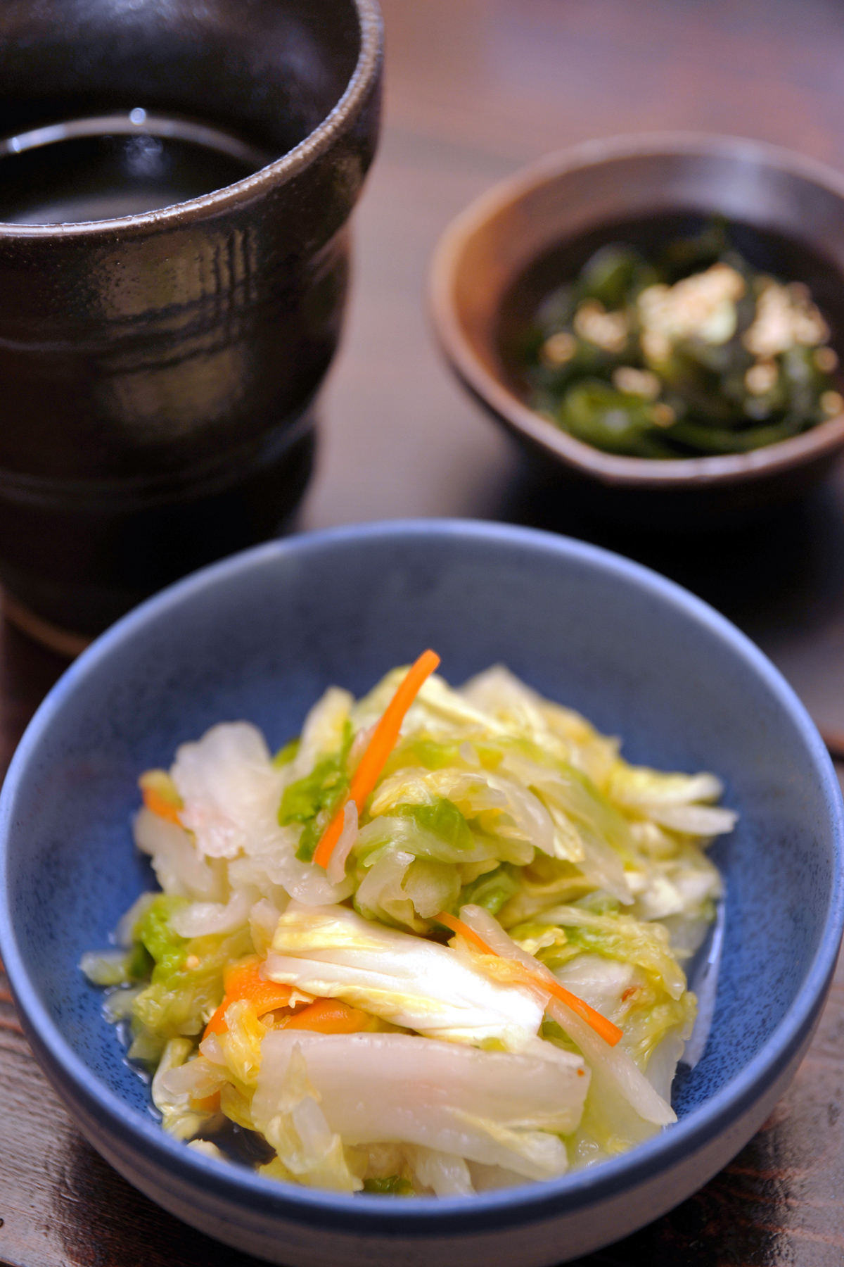 白菜漬け(冨紗家)NIKON D300 + TAMRON 17-50mm + SB-800【ストロボ】