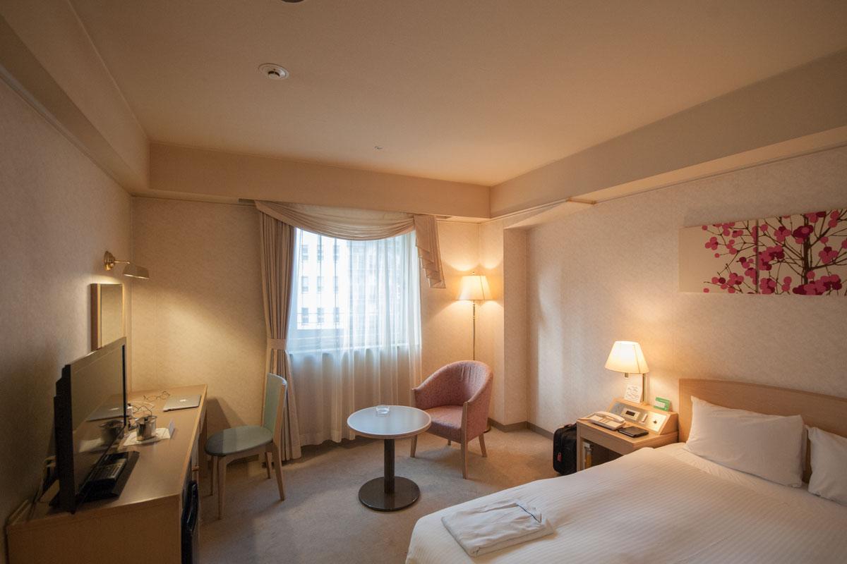 札幌第一ホテルの客室 撮影:NIKON D300 + SIGMA 10-20mm