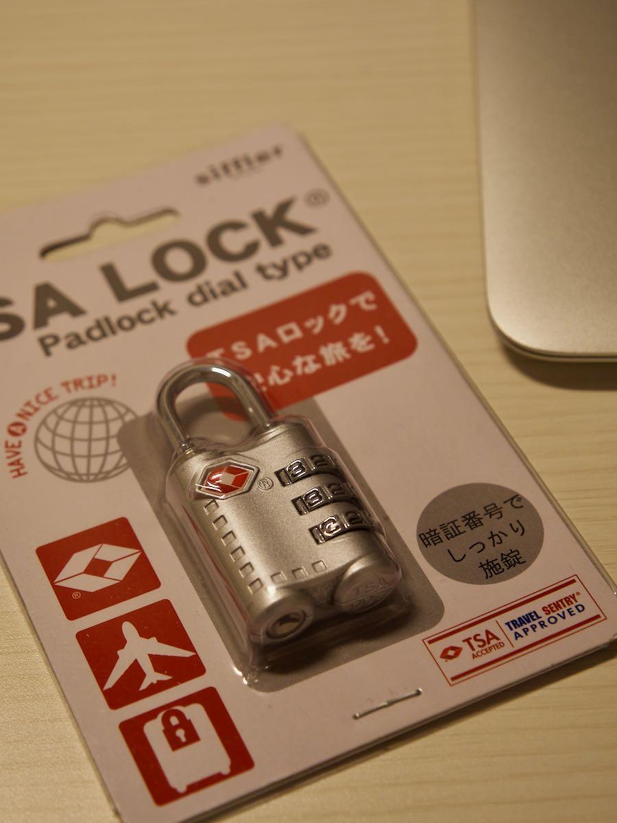 おまけ TSA LOCK800円