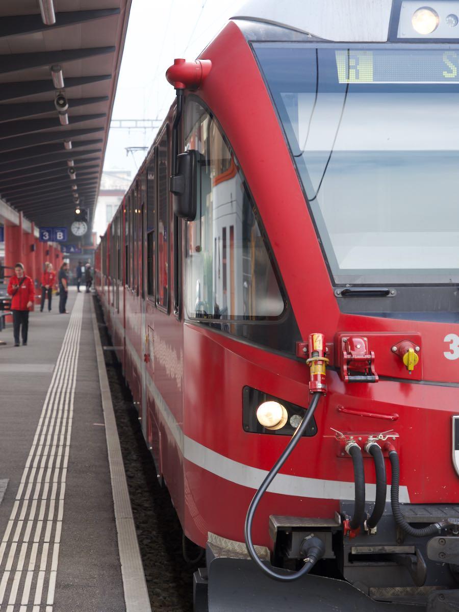 憧れのベルニナ線車両 丸ごとスイス