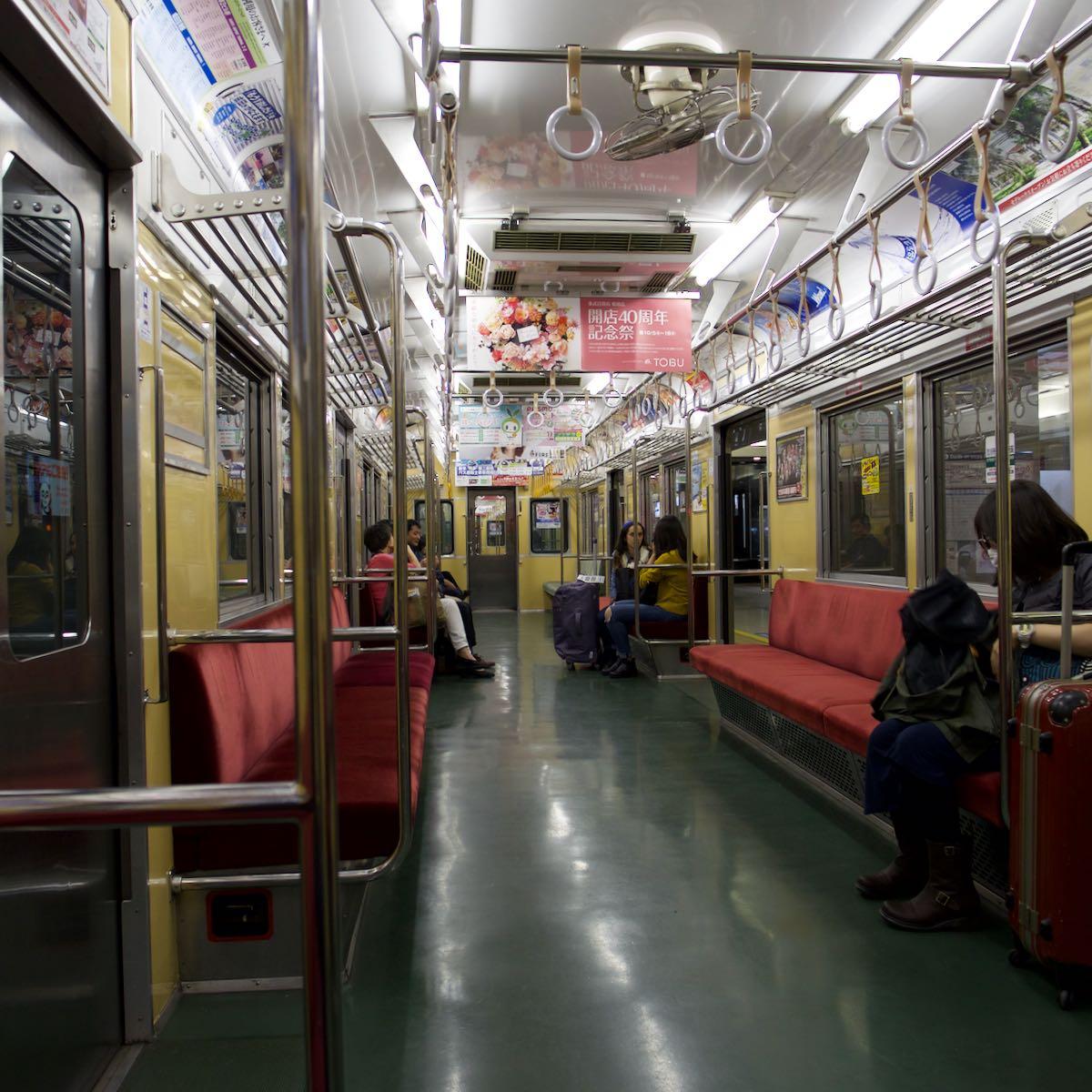 スマホの件は後回しにして京成線に乗車