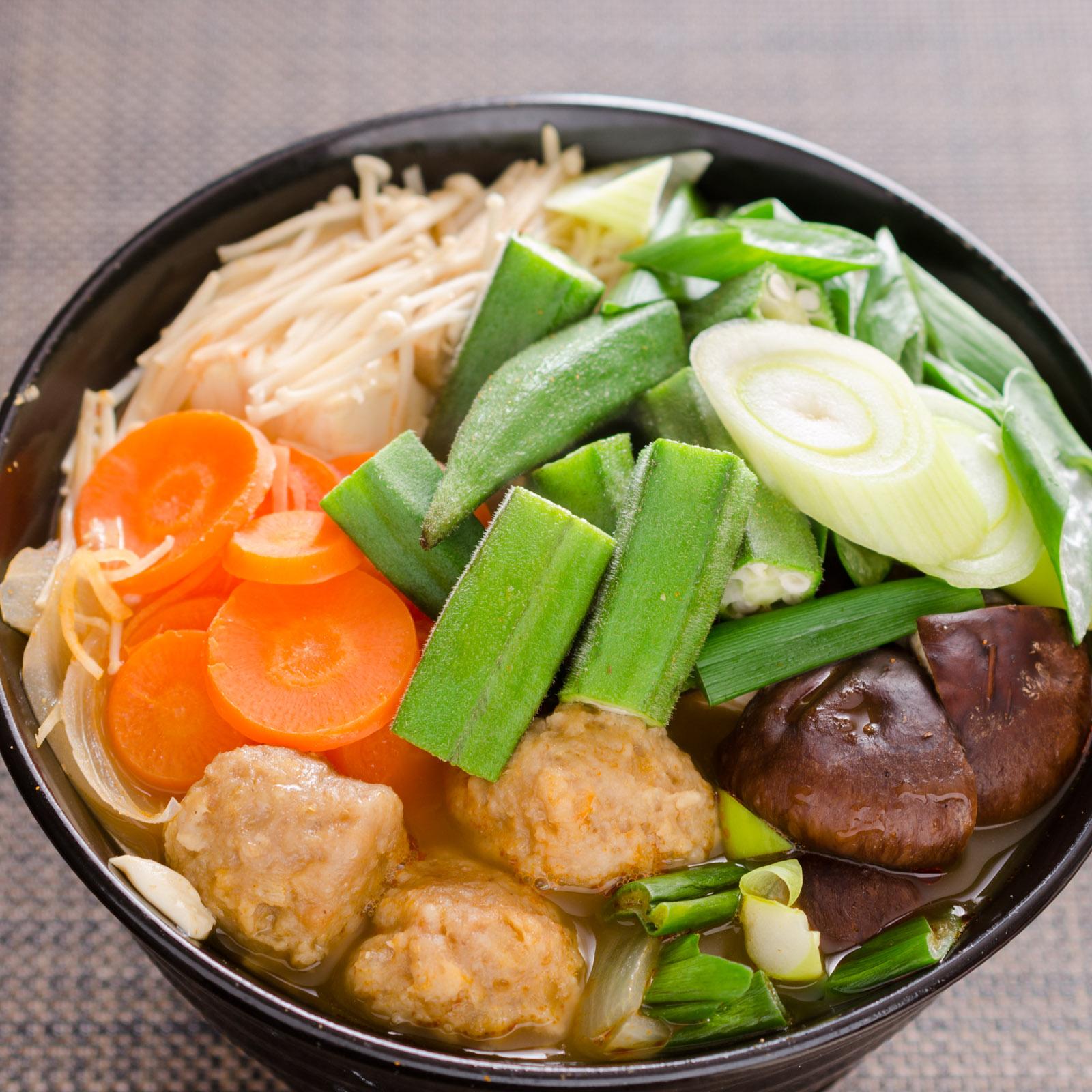 麺が見えないキムチ鍋うどん NIKON D500 + SIGAMA 50mm