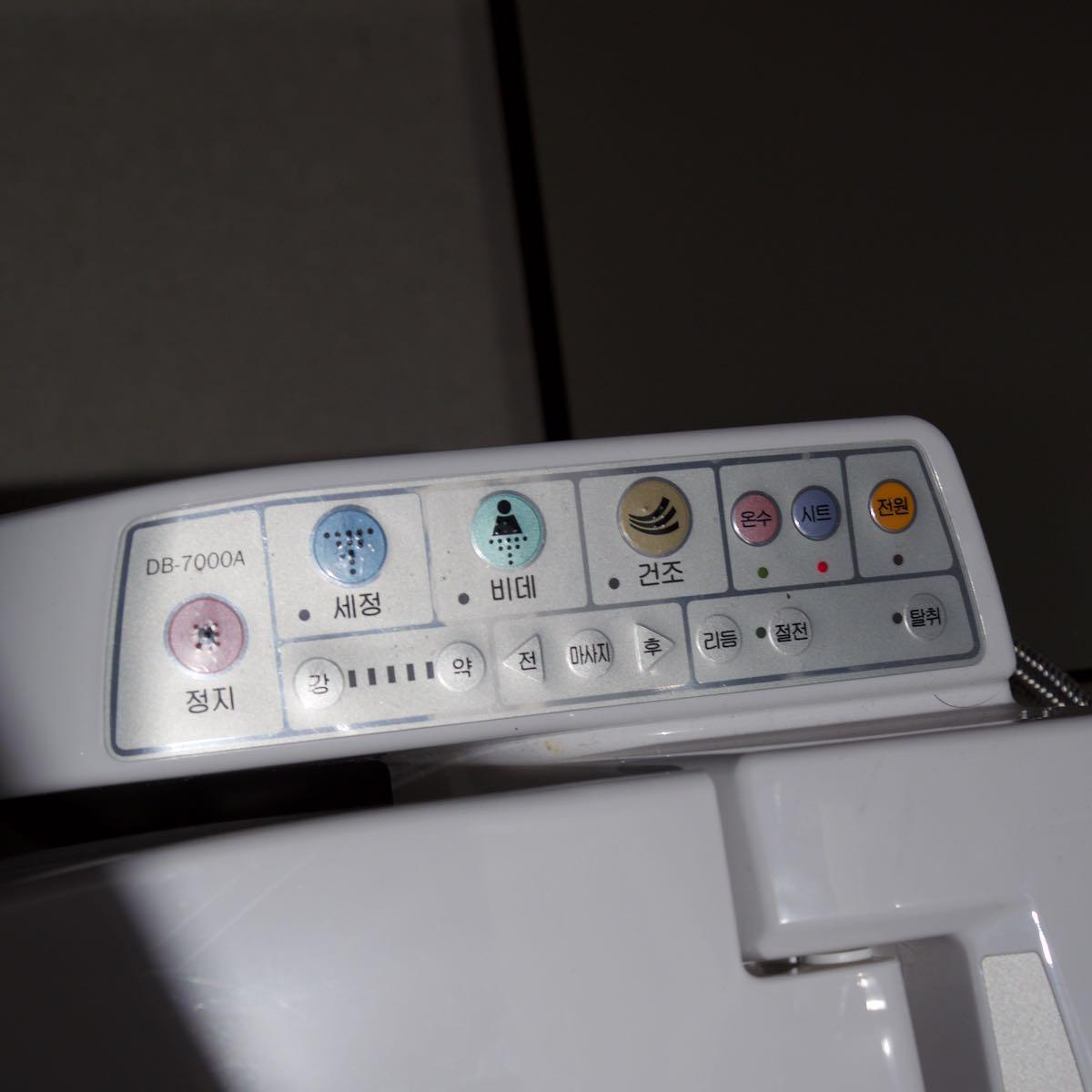 仁川空港のウォッシュレット DMC-GX8 + LEICA DG 12-60mm