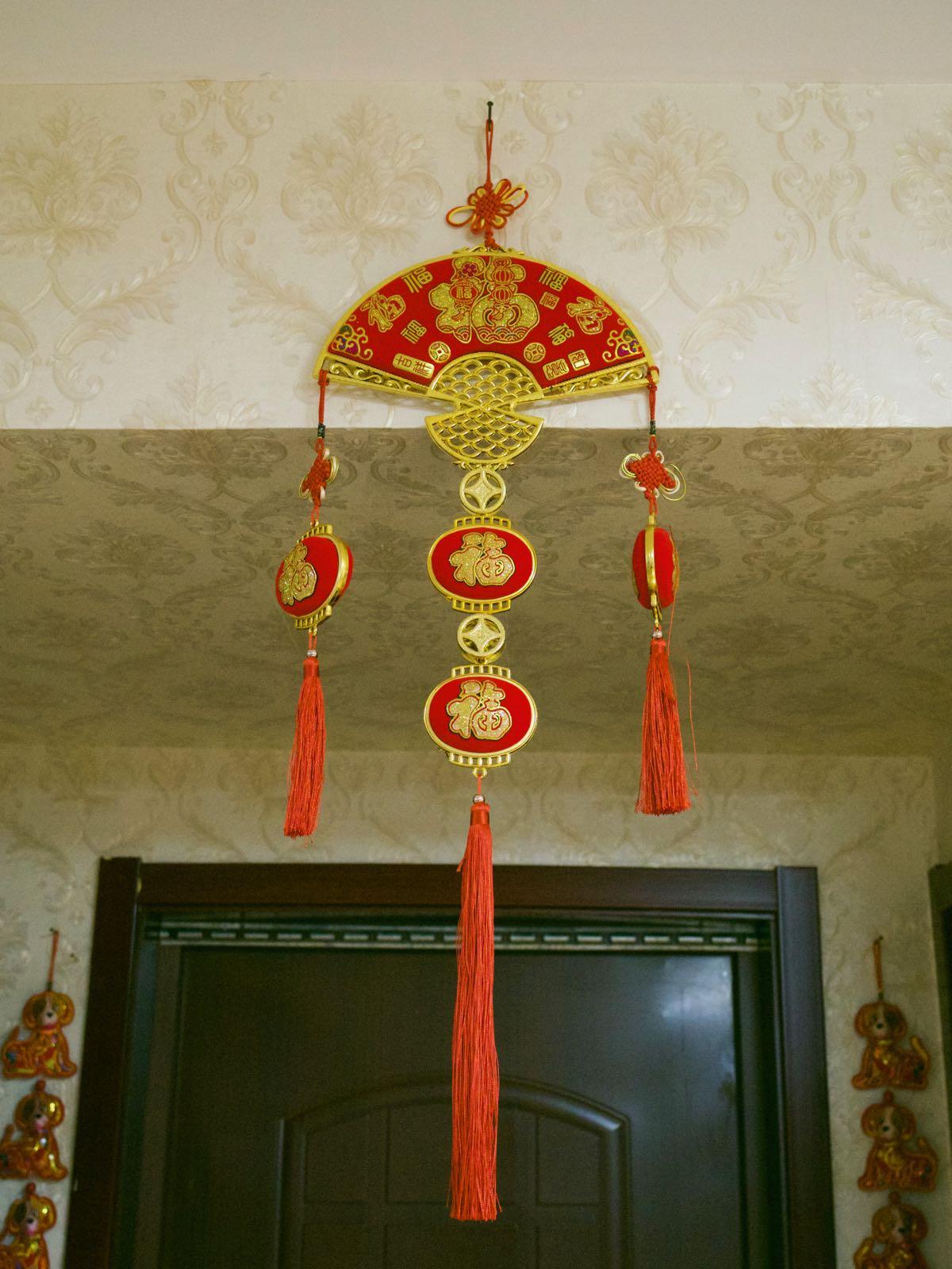 入り口の飾り物 とても中国 DMC-GX8 + LEICA DG 12-60mm