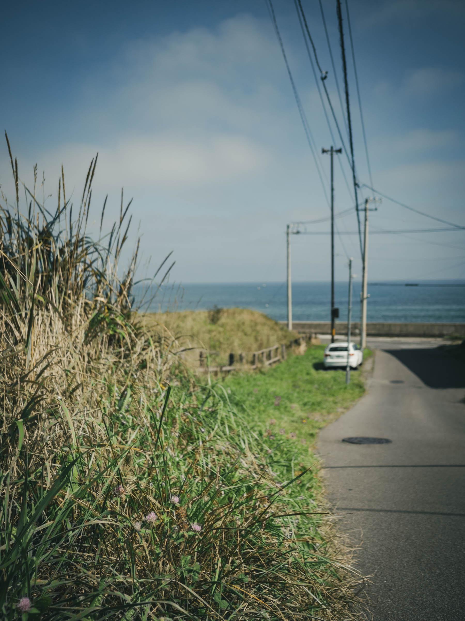 初秋の大森浜 DMC-GX8 + LEICA DG 15mm