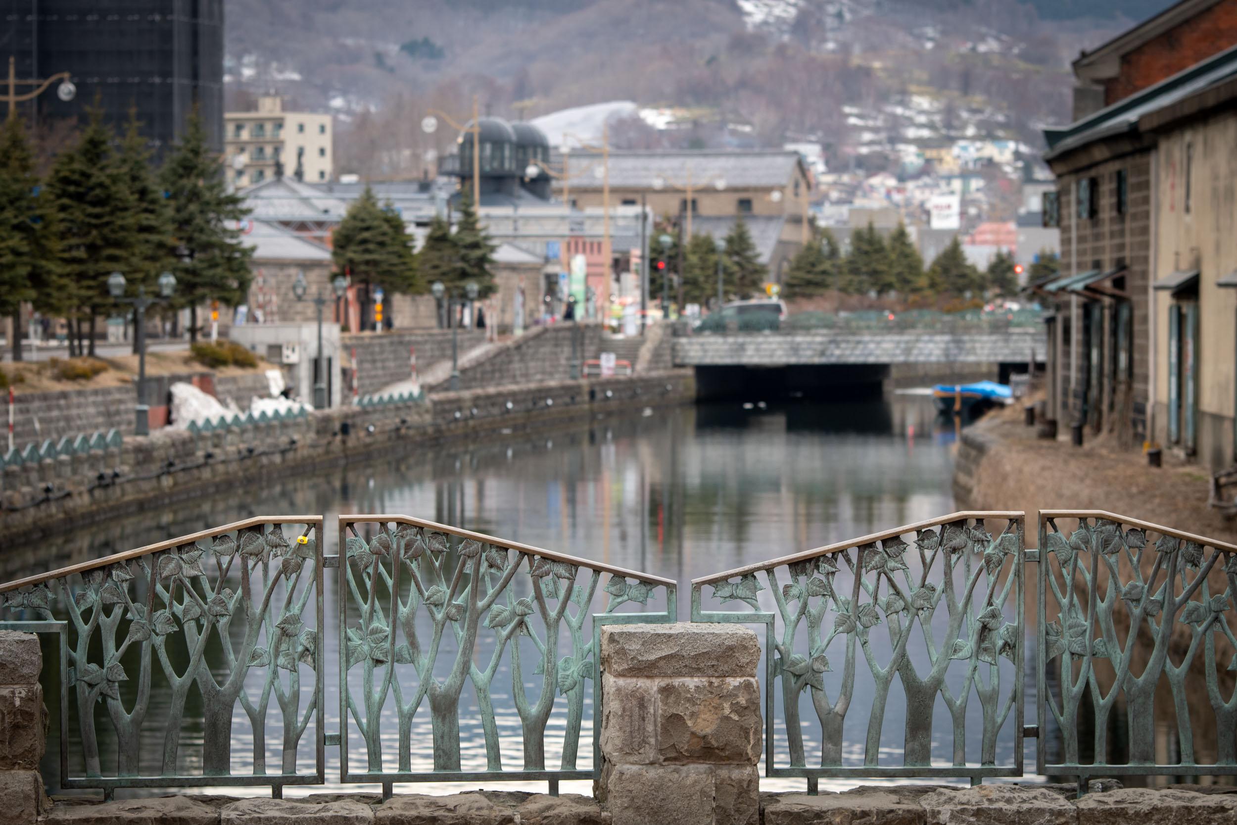 早春の小樽運河 NIKON D500 + TAMRON 70-210mm