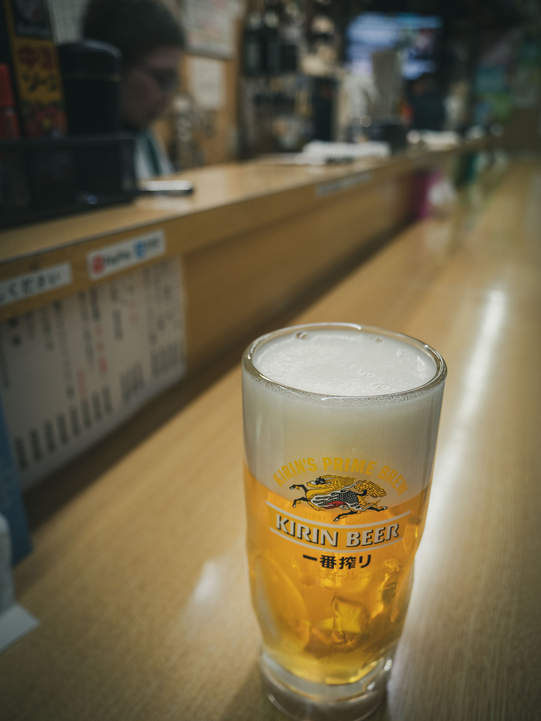 泡の多い、ちょっと残念な生ビール DMC-GX8 + LEICA DG 12-60mm