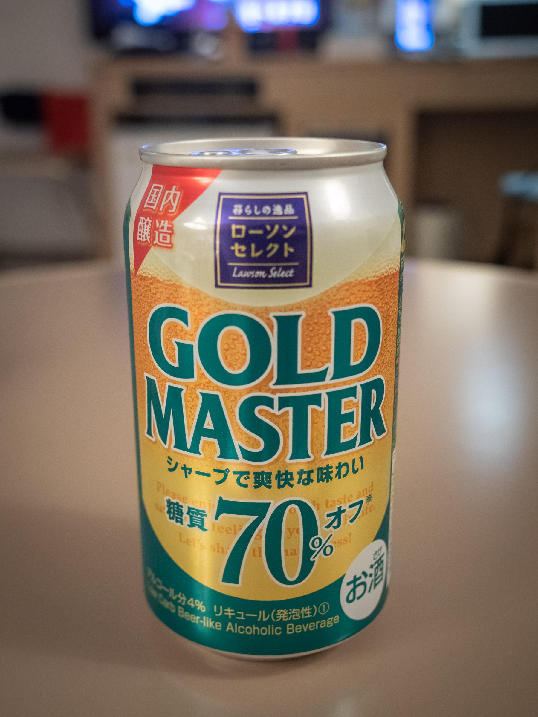 ローソンで買ったキリンゴールドマスター糖質70%OFF DMC-GX8 + LEICA DG 12-60mm