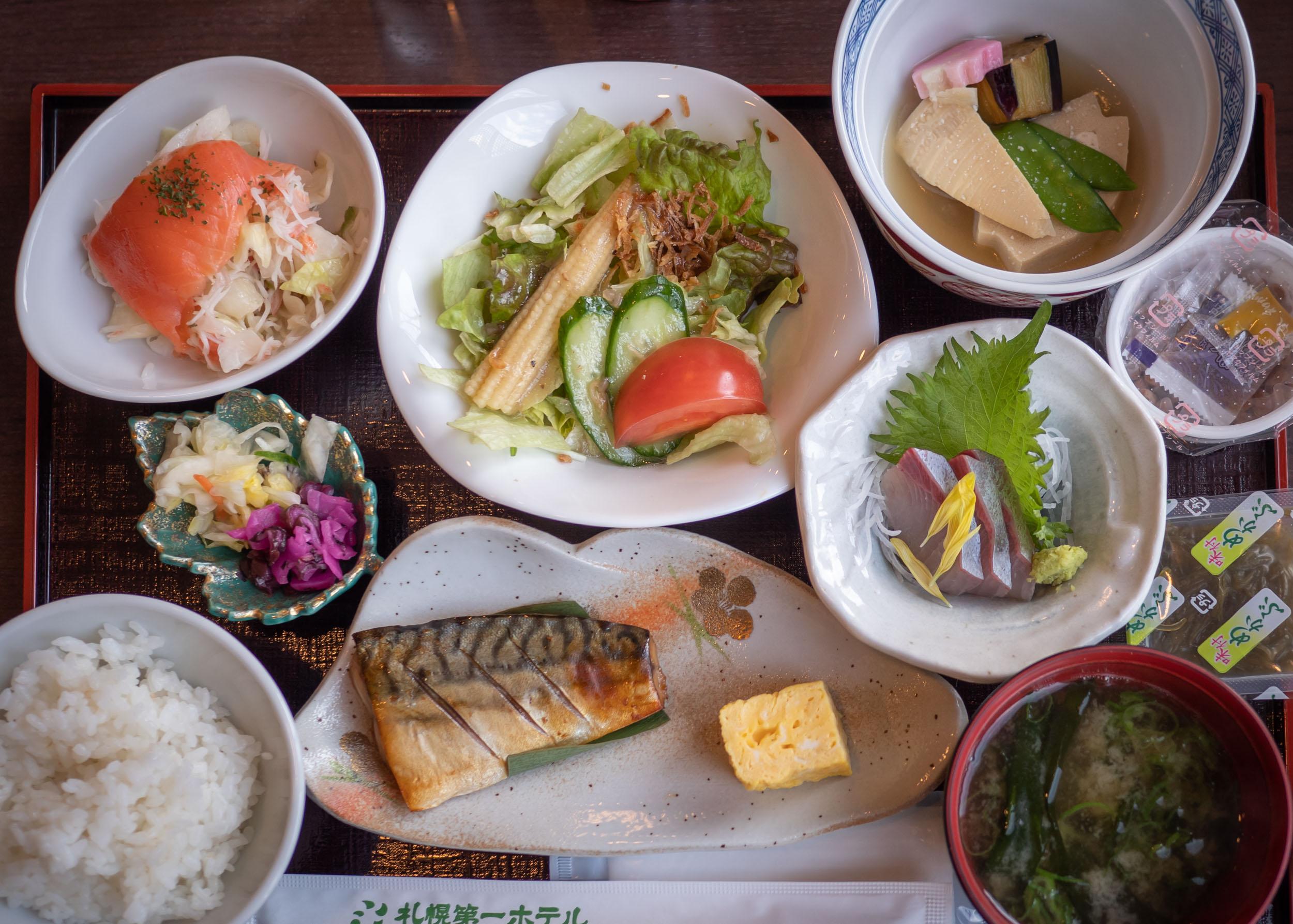 札幌第一ホテル2020年3月25日の朝食 DMC-GX8 + LEICA DG 12-60mm