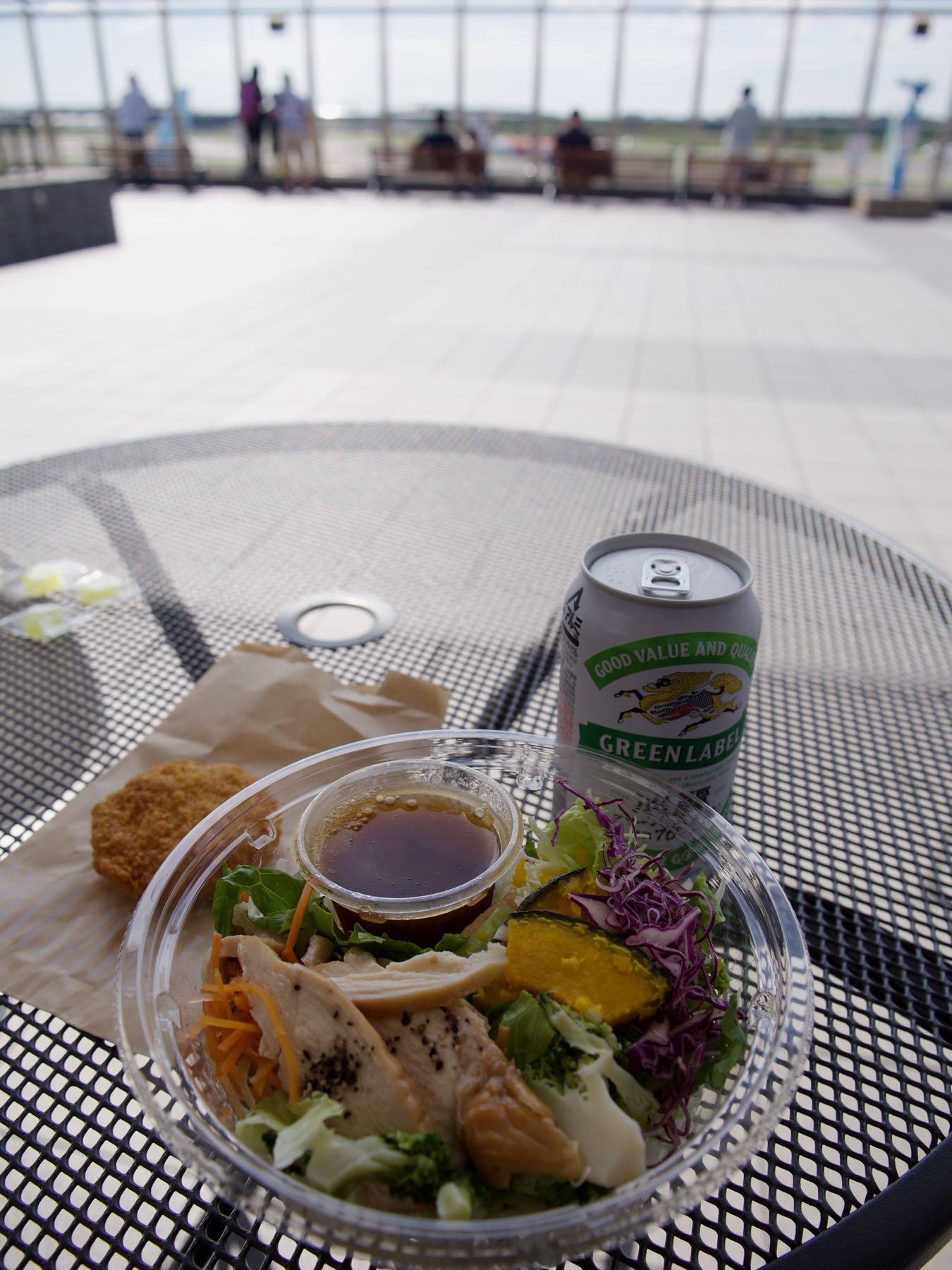 ローソンで買った昼食
